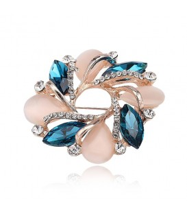 Radiant Flower Brooch.