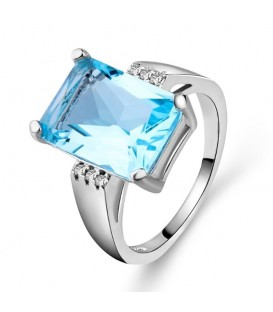 Light Blue Love Ring
