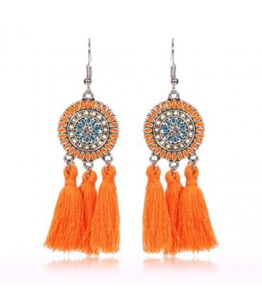 Shades Of Amber Earrings