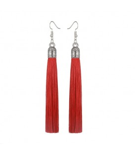 Tassels of Firey Red