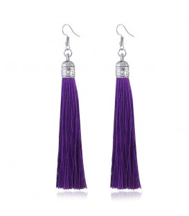 Tassels of Bali Deep Purple
