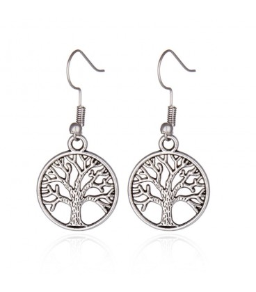 Tree of Life Design Statement Earrings