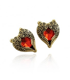 Retro Wings Of Love Stud Earrings