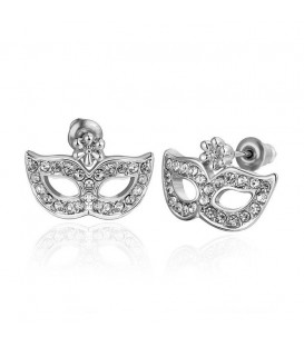 Silver Magic Mask Studs