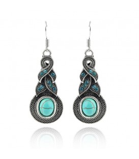 Turquoise Hook Drops