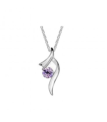Single Solitaire Necklace