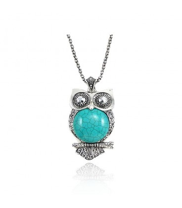 Hooting Owl Necklace