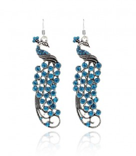 Elegant Peacock Earrings