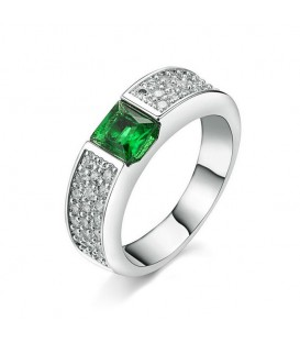 Emerald Glamour Ring