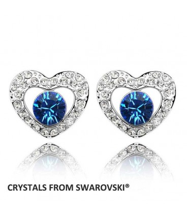 Love Is Amazing Heart Studs