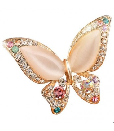 Moon Beauty Fly Brooch
